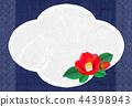 camellia, japanese camellia, postcard 44398943