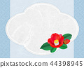 camellia, japanese camellia, postcard 44398945