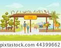 cartoon, background, panorama 44399662