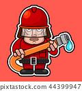 消防员 紧急情况 紧急 44399947