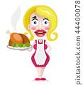 housewife, vector, female 44400078