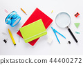 school accessories and  notebook or book 44400272