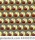 Halloween pattern background 44400359