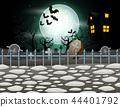公墓 墓地 万圣节 44401792