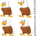 cartoon, collection, eagle 44402164