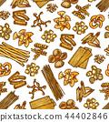 pasta pattern seamless 44402846