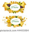 pasta vector spaghetti 44403064