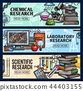 Scientific research and laboratory sketch 44403155