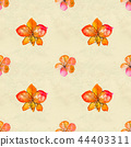 pattern, flowers, background 44403311