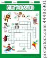 Letter k crossword concept 44403901