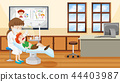 Dentist and child scene 44403987