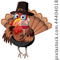 turkey character vector 44404018