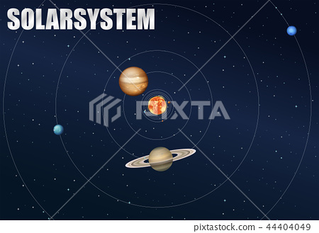 The solar system concept 44404049