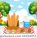 picnic, meal, park 44404055