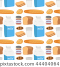 Seamless pattern of food 44404064