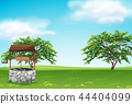 green, nature, vector 44404099