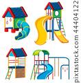 Set of playground equipment 44404122