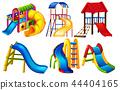 Set of playground equipment 44404165