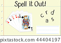 Spell it out cards 44404197