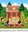 Girls performance ballet outdoor 44404339
