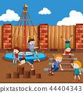 playground, playing, child 44404343