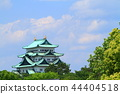 Fresh green and Nagoya castle 44404518