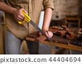 hand, carpenter, man 44404694
