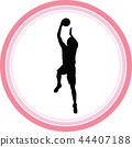 basketball player 44407188