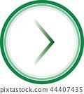 arrow right sign 44407435