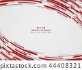 Hi technology motion gradient red stripe lines 44408321