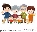 家庭 家族 家人 44409312