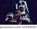nun bear Halloween 44409683