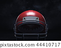 helmet, football, 3d 44410717