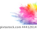 explosion, dust, colorful 44412614