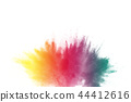 explosion, dust, colorful 44412616