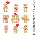 bear, teddy, couple 44412854