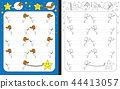 Preschool worksheet 44413057