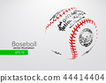ball baseball vector 44414404