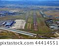 runway, airstrip, airport 44414551