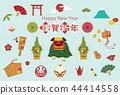 新年贺卡材料01 44414558