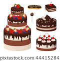 collection, cake, dessert 44415284