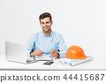 기술자, 기사, 헬멧 44415687
