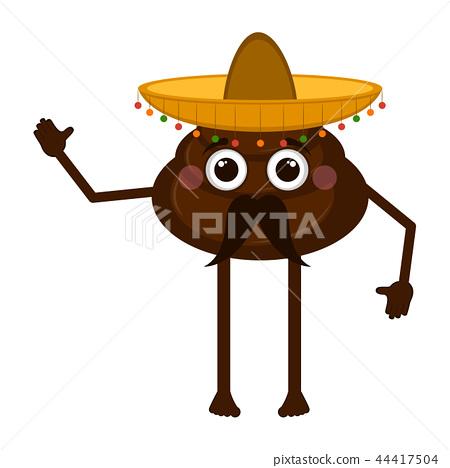 Mexican poop emoji - Stock Illustration [44417504] - PIXTA