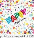 新春 新年的 新年 44417559