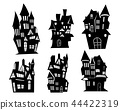 Set of Castle  on a white background 44422319