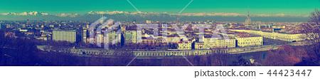 Panorama of Turin, Italy 44423447