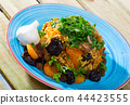 Pilaf from mutton with dried apricots, prunes 44423555