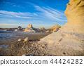埃及西部的白色沙漠 44424282
