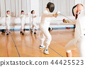 gym, stance, lunge 44425523