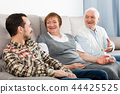 grandson, grandparent, talk 44425525